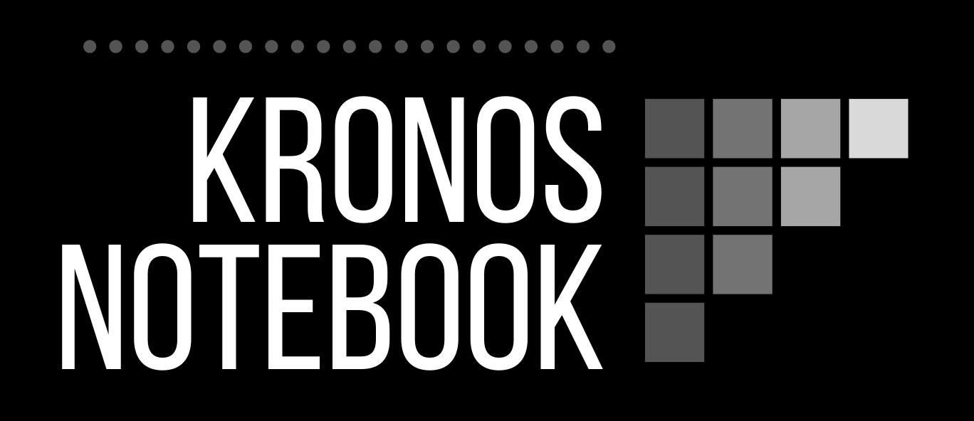 Kronos Notebook